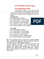 Revise for IGCSE in ESL Exam