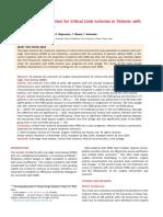 Limb Ischemia Journal ESRD