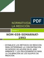 Normatividad Para La Medición