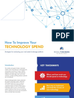 How to Improve Your Technology Spend