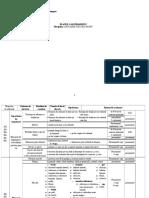 2.Clasa II - EFS - Planul Calendaristic Semestrial