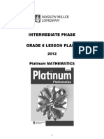 Platinum English FAL Grade 5 Lesson Plans | Reading