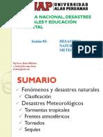 S05 (Arq) Desastres Meteorologicos