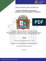 Recuperacion de La Bahia de Lago Puno