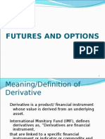 Presentation on Futures Options