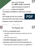 Simple CPU Design