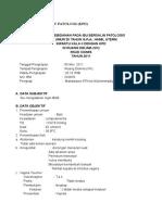 Contoh Askeb Inc Patologi Dengan Kpd