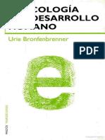 Ecologia Del Desarrollo Humano Urie Bronfenbrenn