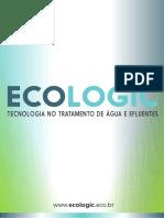 Catálogo Ecologic - Tecnologia em Águas e Efluentes