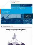 Myths and Realities of Migration (2016)