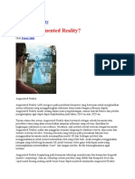 Artikel Augmented Reality
