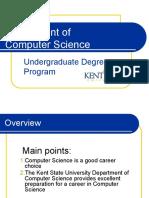 Computer Science Department PowerPoint Presentation