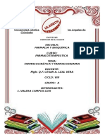 Farmacoterapeutica Farmacocinetica y Farmacodinamia.