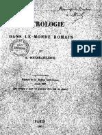 Bouche-Leclercq a 1897 L Astrologie Dans Le Monde Romain