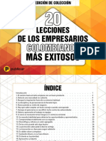 eBook 20 Colombianos EXITOSOS