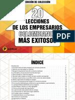eBook 20 Colombianos EXITOSOS