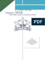 Report - CBM