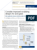 Consider Improved Scrubbing Designs for Acid Gases