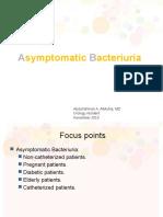 Asymp Bacteriuria a.almuhrij