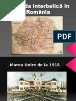 Perioada Interbelica in Romania
