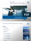 Wendt Large Scale Photovoltaic Power Plants for Developing Countries