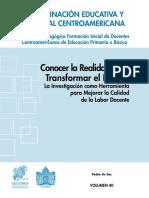 Conocer La Realidad Para Transformar El Futuro - Pedro Us Soc.pdf