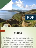 El Clima en El Perú