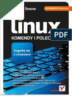 Linux Komendy i Polecenia Wydanie IV Rozszerzone Lukasz Sosna Ebookpoint.pl