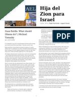 Hija Del Zion Para Israel Newspaper 03.06.2010