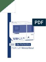 nova biomedical - Stat Profile Ultra (F,G,H,I,J,K Reference Manual)