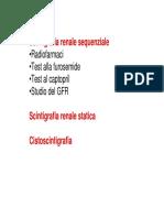 medicina nucleare -  Rene