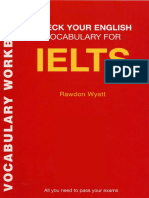 Check Your English Vocabulary for IELTS II (1)