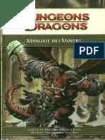 D&D 4.0 - Manuale Dei Mostri