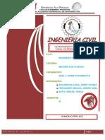 Informe-mecanica de Fluidos II
