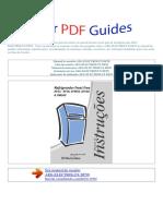 Manual Do Usuário Aeg Electrolux Df50 p