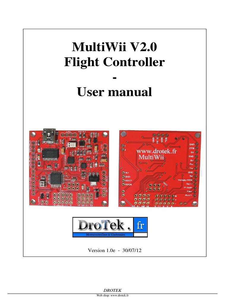 Guide Fc Enpdf Arduino Graphical User Interfaces Multiwii Flight Controller Wiring Diagram