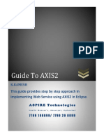 Guide to Axis2