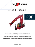 805T-905T Use & Maintenance Manual