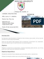 Estudio de Sitio. Diseño IV LAAU.pptx