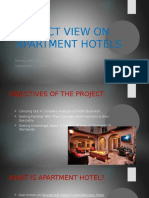 Project View on Apartment Hotels