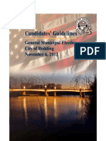 Redding Election Guidelines