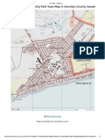 print map - topozone ewa beach