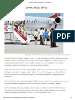 21/07/16 Tiene Sonora Más Conectividad Aérea - Opinión Sonora