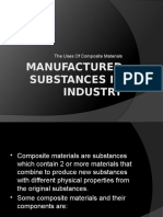 MANUFACTURED SUBSTANCES IN INDUSTRY.pptx