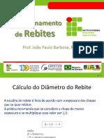 Aula_03 - Dimensionamento de Rebite, Parafuso e Chavetas