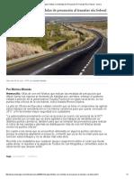 20/07/16 Entregan Folletos Con Medidas de Precaución Al Transitar Rúa Federal - UniObregón
