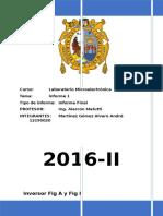informe n°1 Laboratorio Microelectronica UNMSM