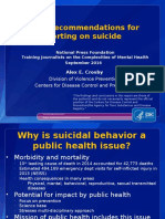 Mental health and suicide by the numbers