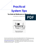 Practical System Tips