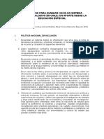 Medidas Documento Mesa Educación Especial 2015